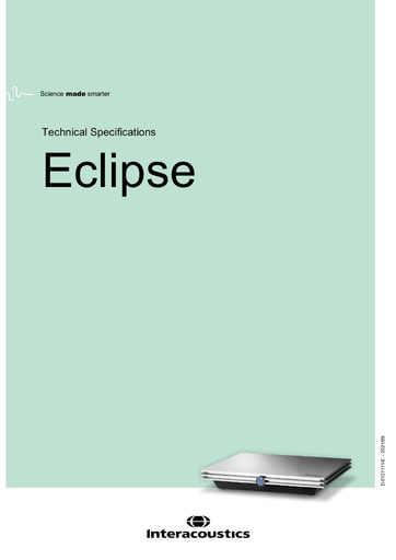 Data sheet for Eclipse (NOT FOR US)